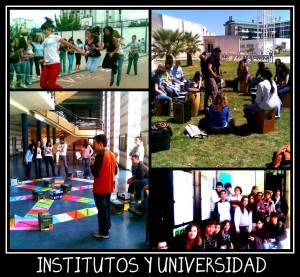 Collage IES Y UNIVERSIDAD